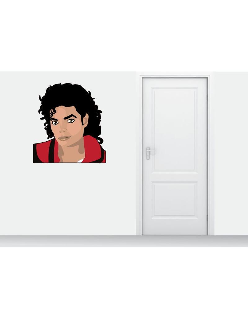 Wall Sticker Michael Jackson
