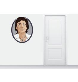 Wall Sticker Ramses Shaffy circle