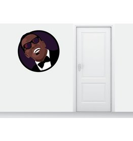 Wall Sticker Ray Charles circle
