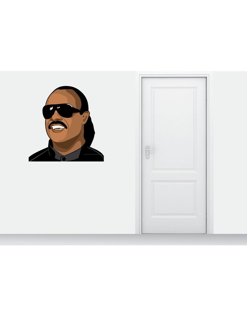 Wall Sticker Stevie Wonder
