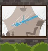 Etiqueta de la ventana éxito - trompeta