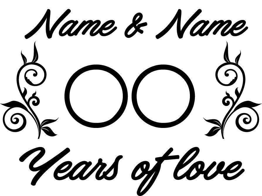 Liebe & Freundschaft - Jahre der Liebe mit Ornamenten