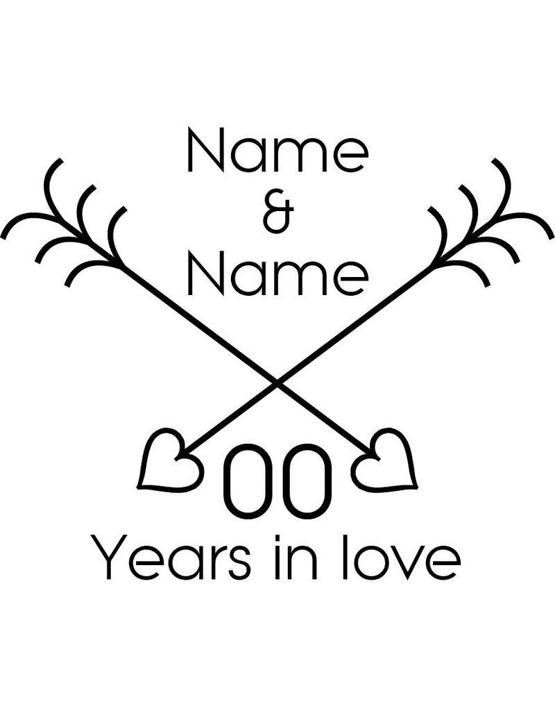 Love & Friendship - Intersecting heart arrows