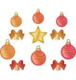 Boules de Noël mis