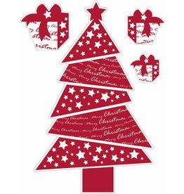 Weihnachtsbaum rot