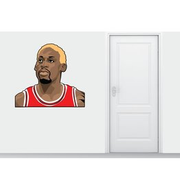 Wall Sticker Dennis Rodman