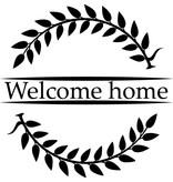 Bienvenido de nuevo Etiqueta de la ventana - Welcome Home