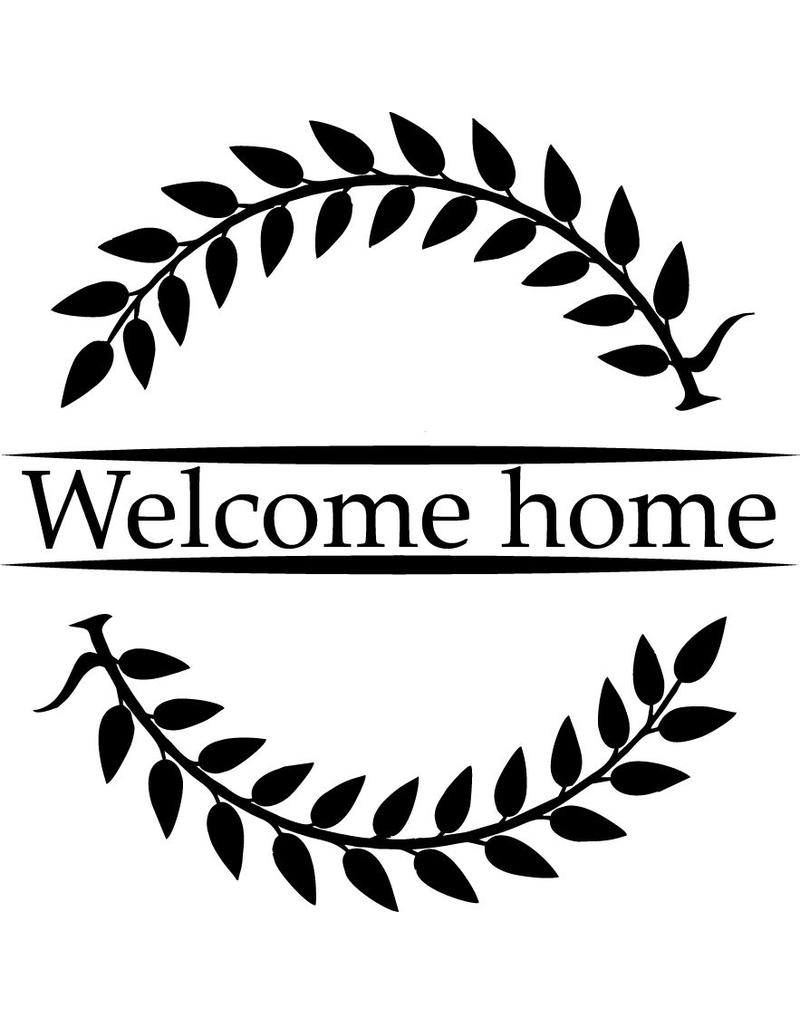 Welcome Back Sticker Window - Welcome Home
