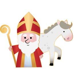 Saint et le cheval