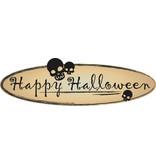 crânes Happy Halloween