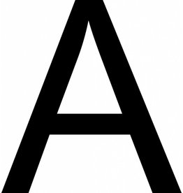A Letter Stickers