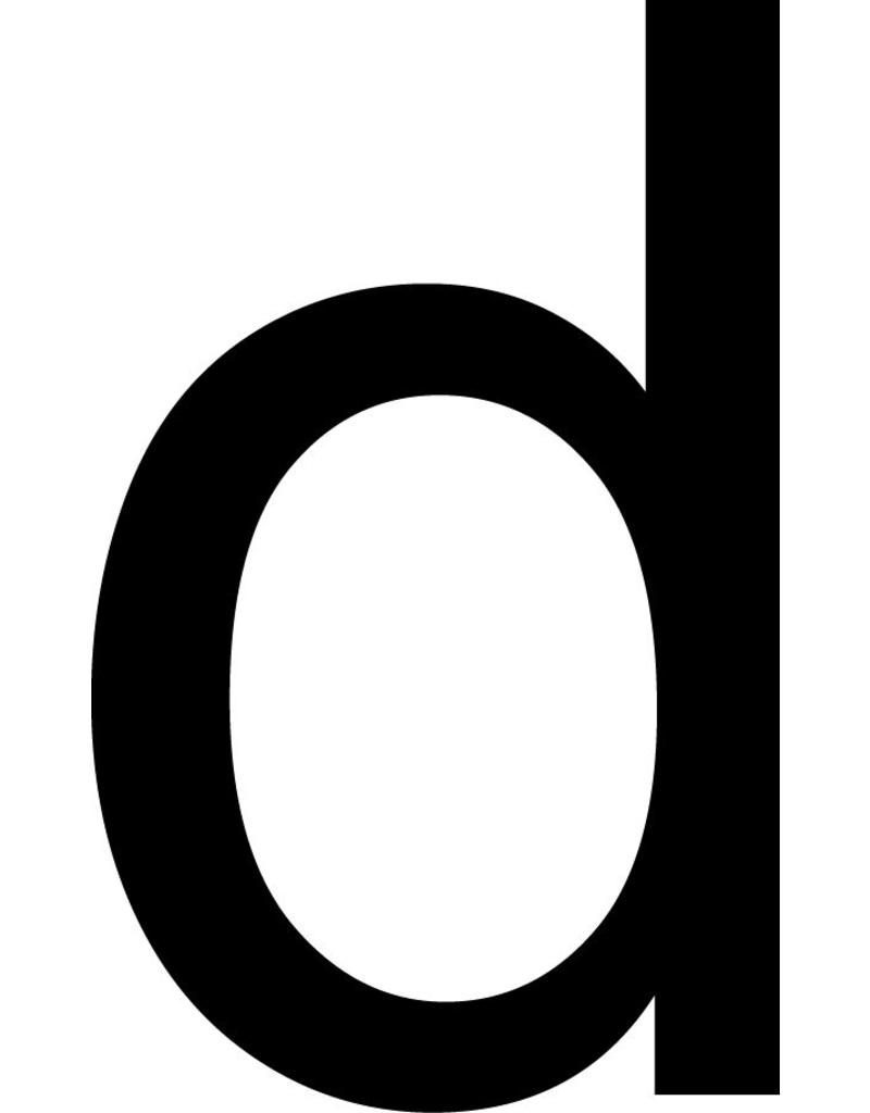 d Letter Stickers