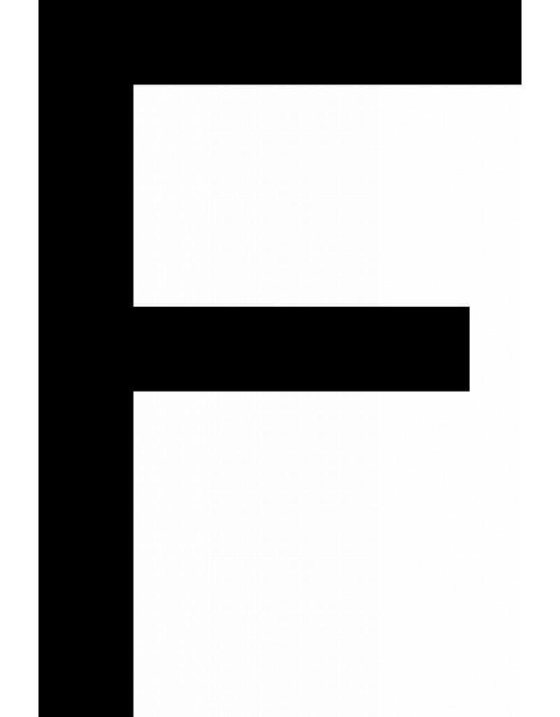 F lettres adhésives