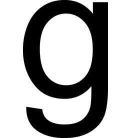 g Letter Stickers