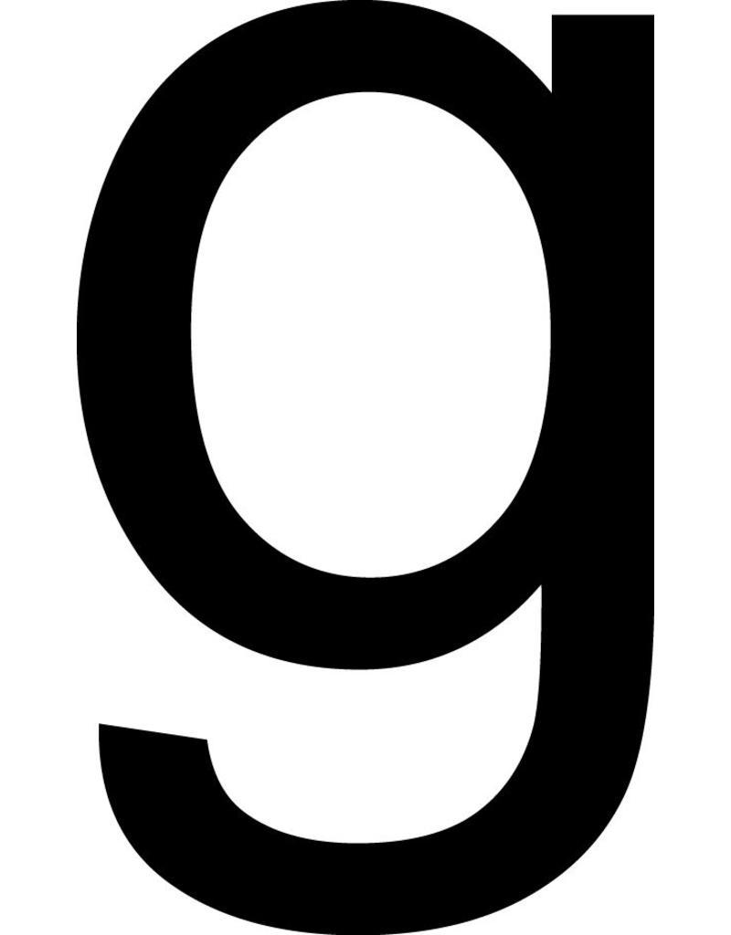 g lettres adhésives