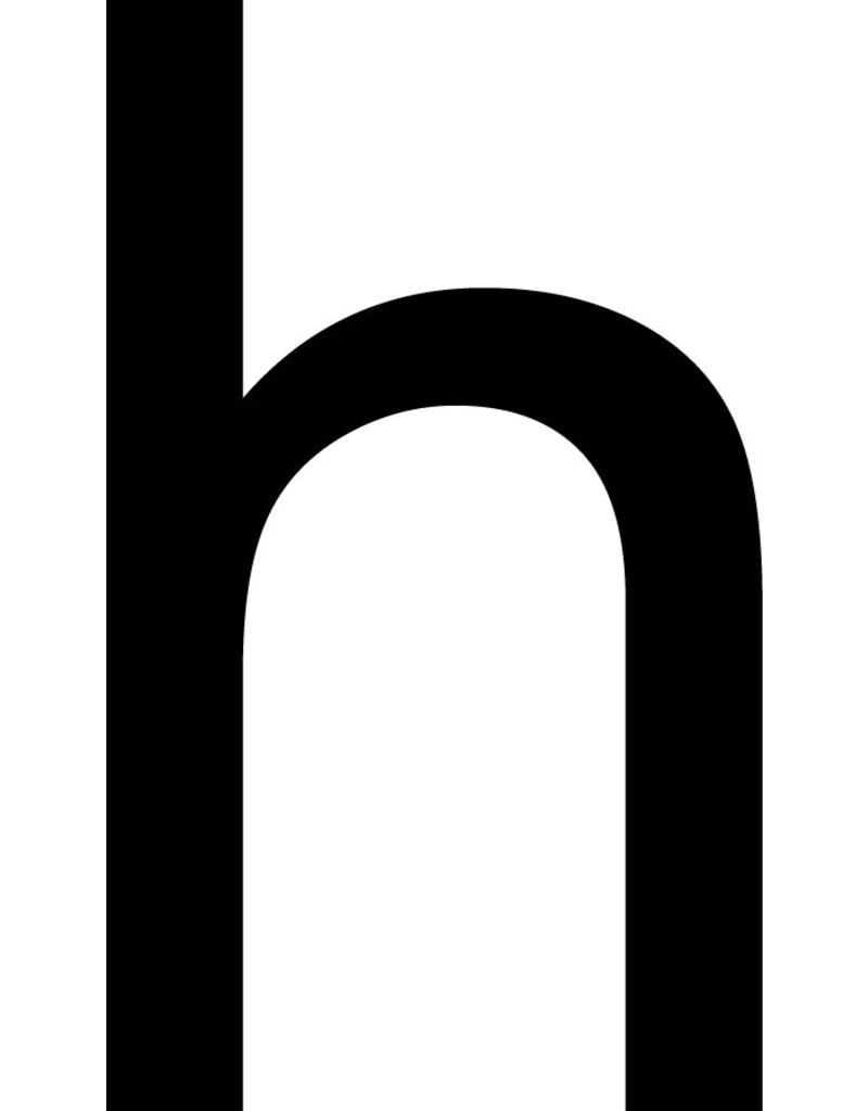 h Klebebuchstabe