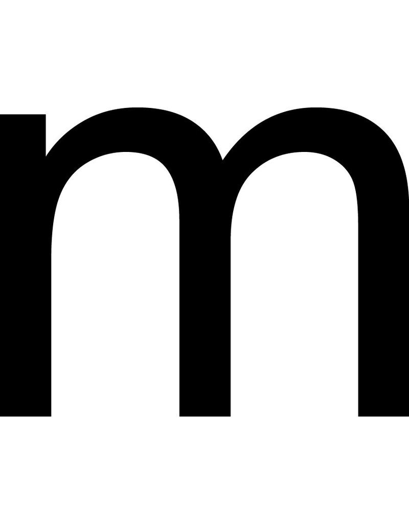 m Letter Stickers