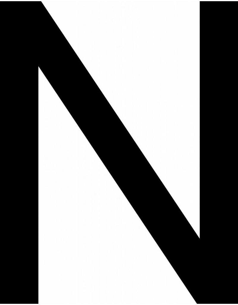 N lettres adhésives