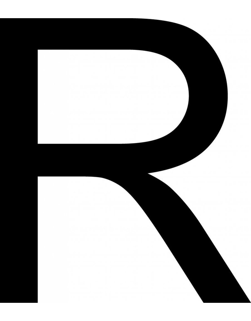 R Letter Stickers