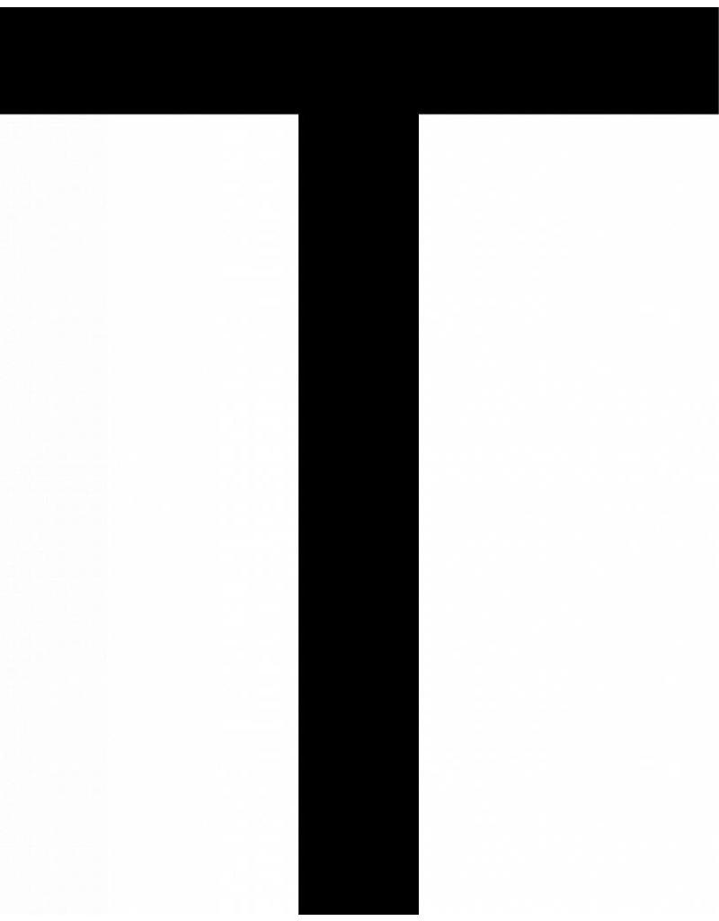 T lettres adhésives