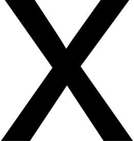 x Plakletters