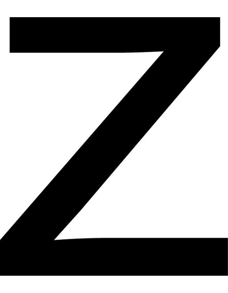 z Letter Stickers