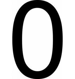 Zéro lettres adhésives