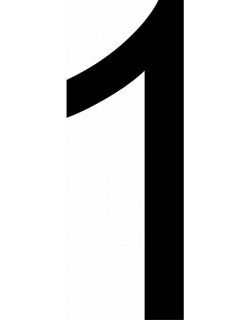 2 lettres adhésives