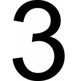 3 Klebebuchstabe