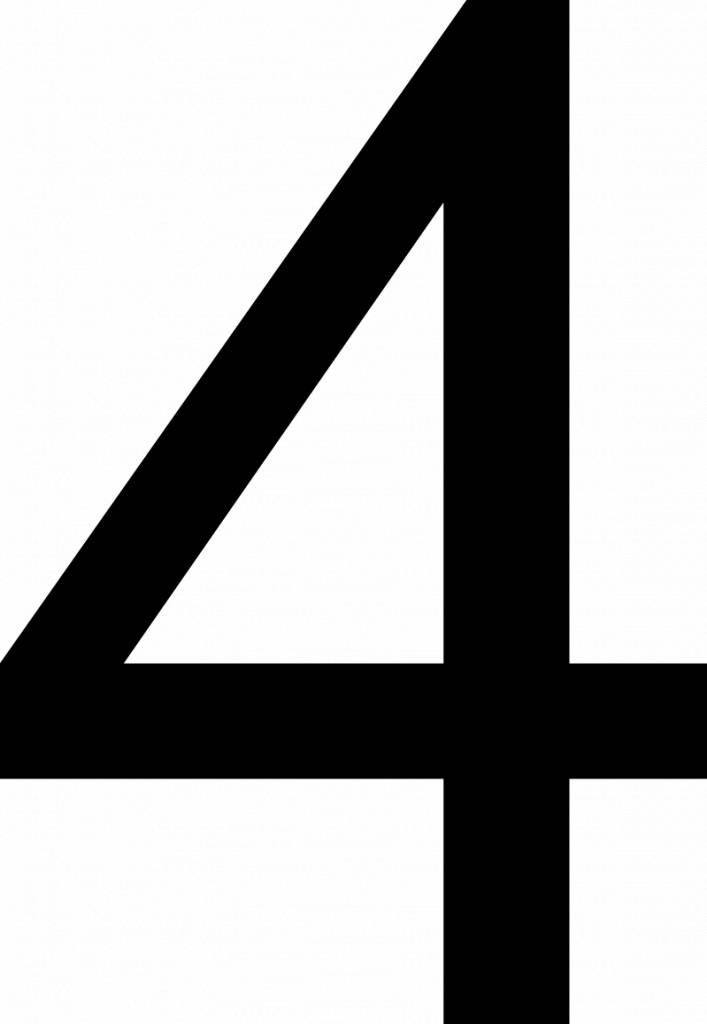 """Número: """"Cuatro"""""""