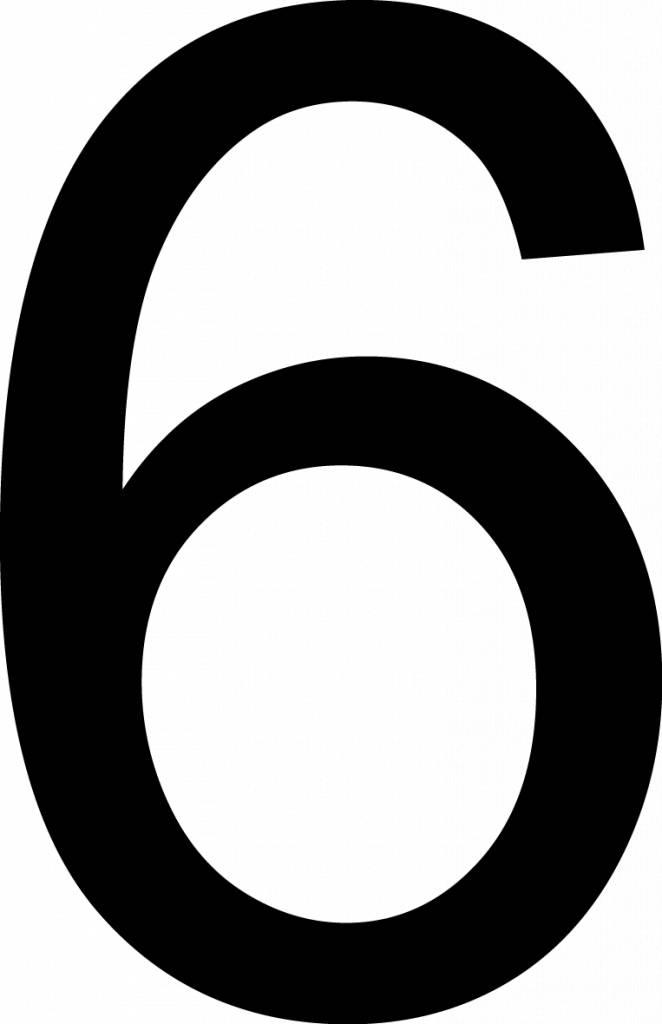 """Número: """"Seis"""""""