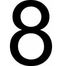 Huit lettres adhésives