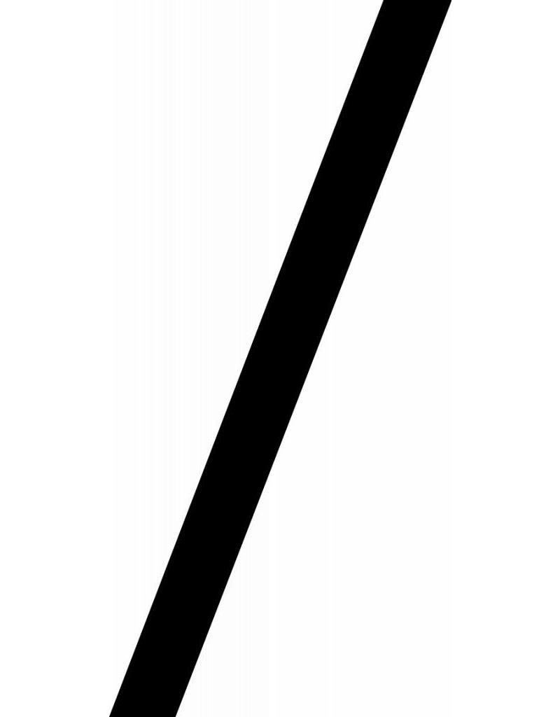 Divisionzeichen1 Klebebuchstaben