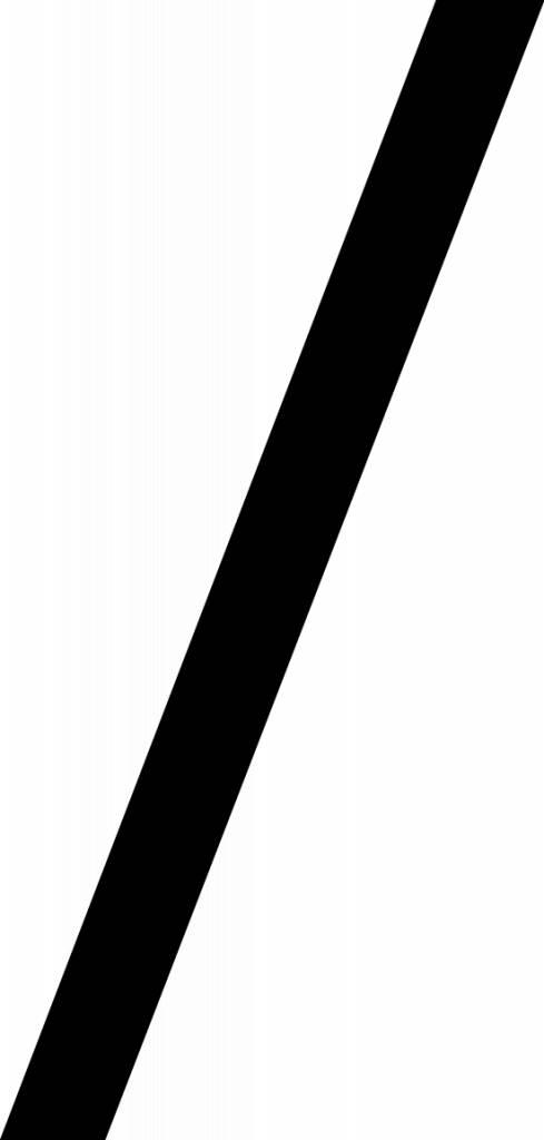 Dividing 1 Letter Sticker