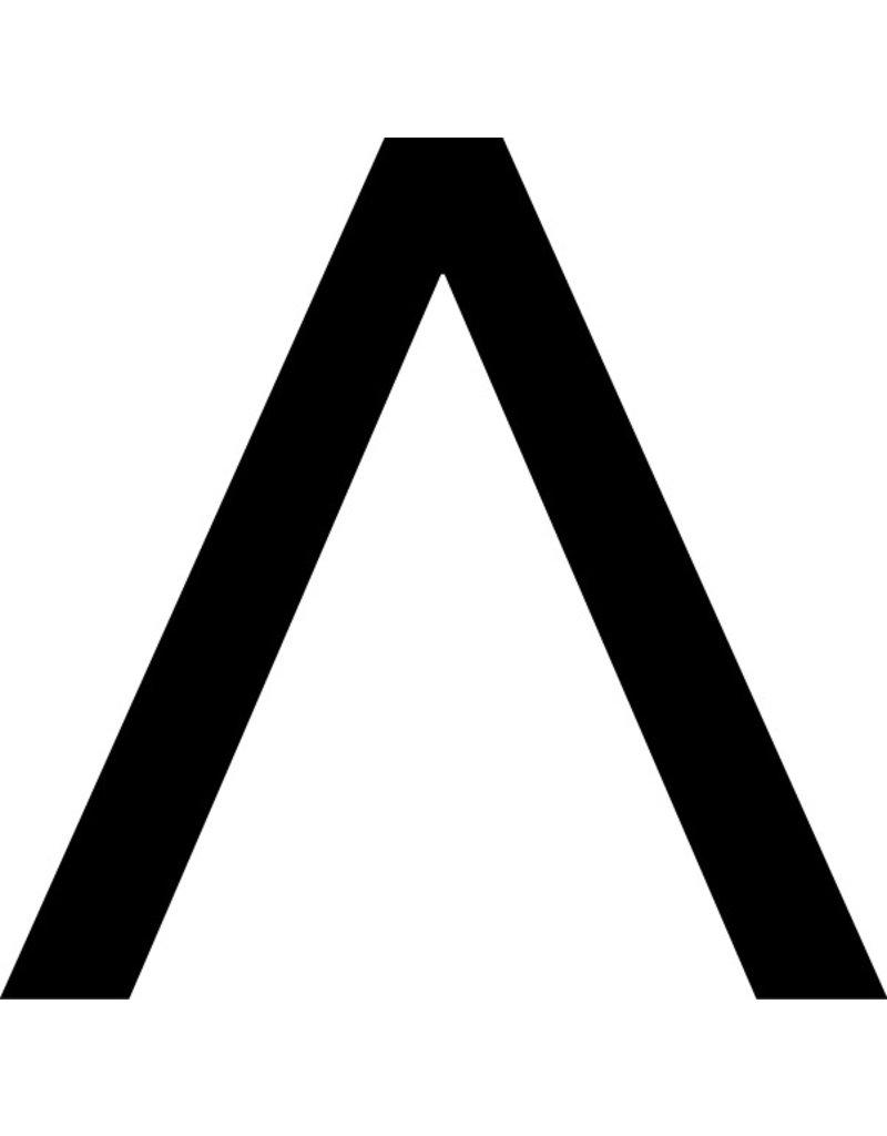 ^ signe lettres adhésives