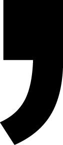 comma Letter Stickers