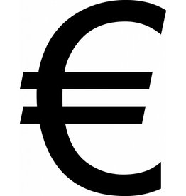 Euro Klebebuchstabe