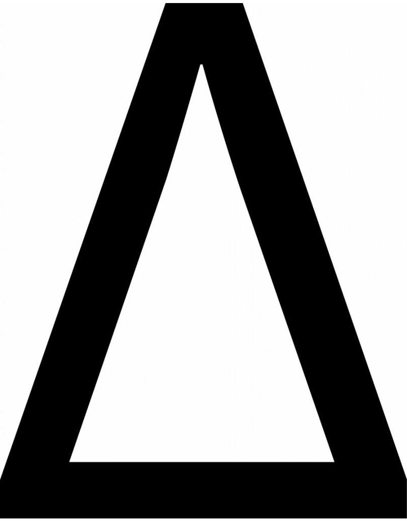 Delta Klebebuchstaben