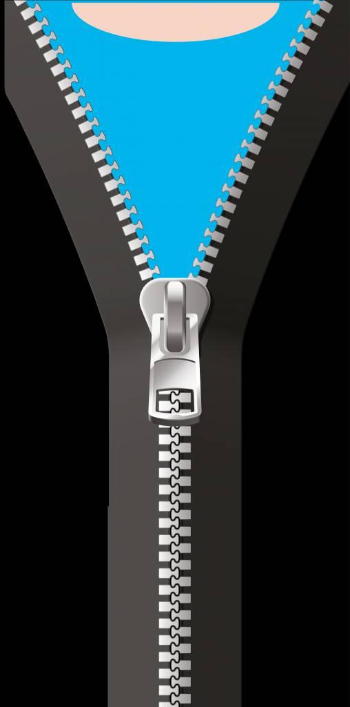 Ouvrir Autocollant Zipper porte