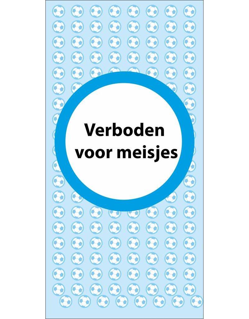 Verboten für Mädchen Sticker
