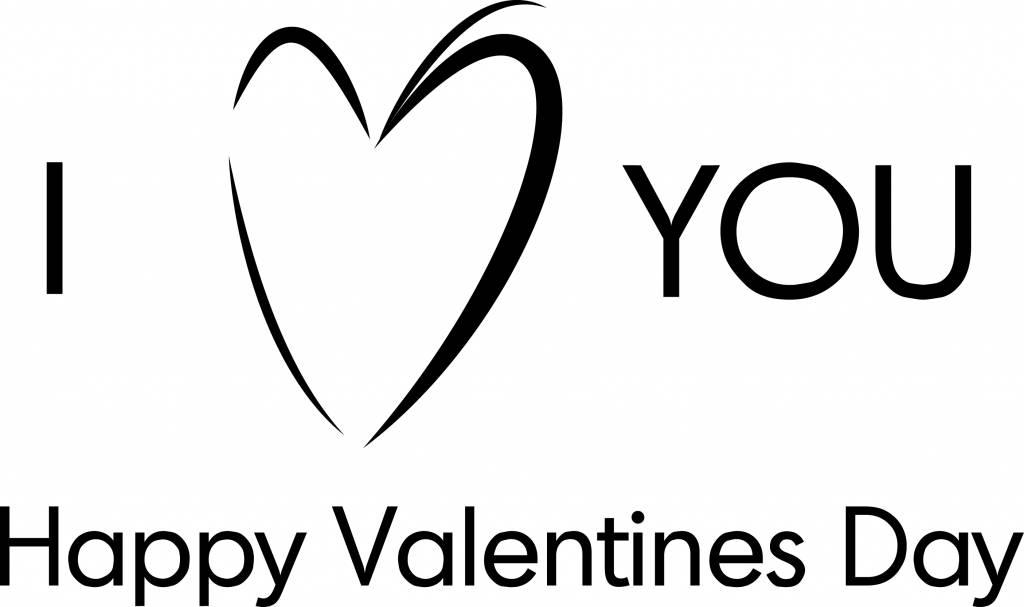 Saint Valentin - je vous aime