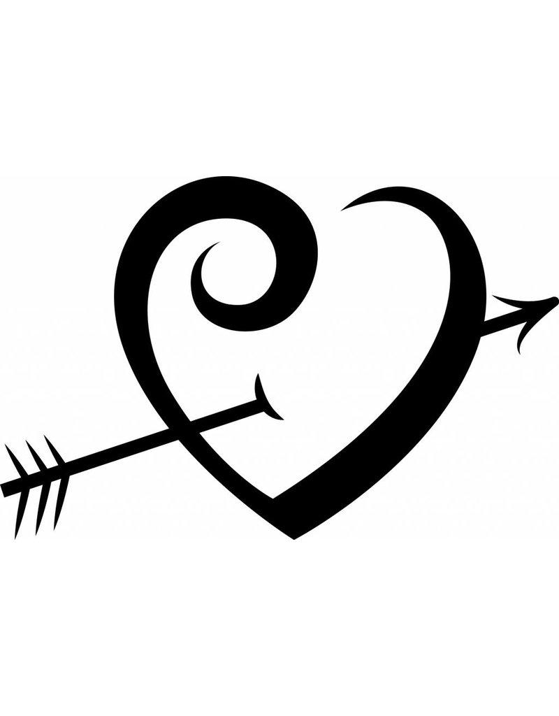 Día de San Valentín - corazón abordado