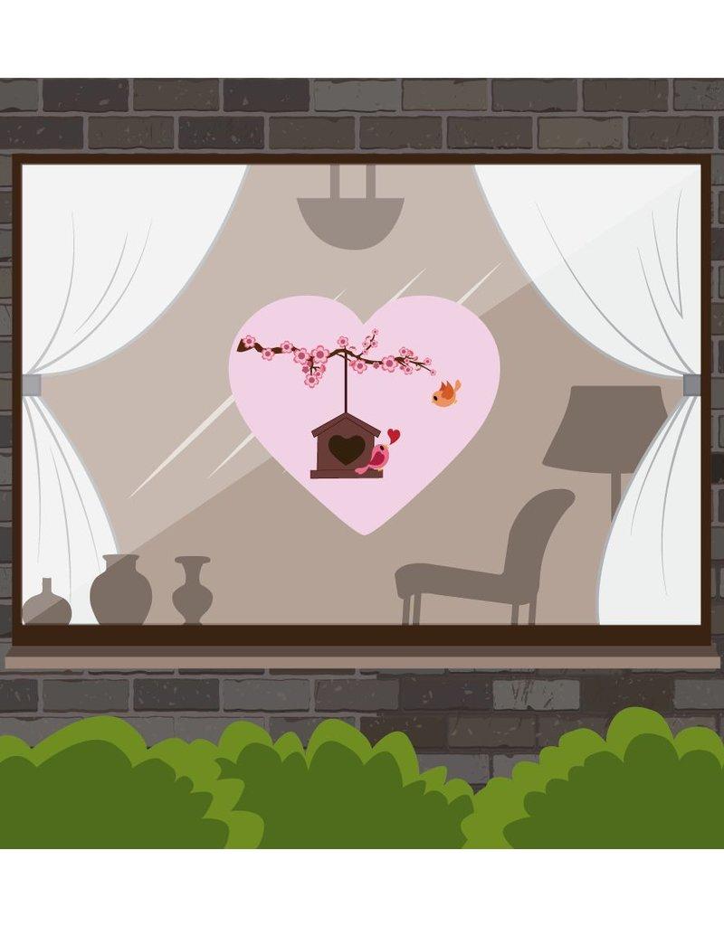 Valentijnsdag - Vogelhuisje