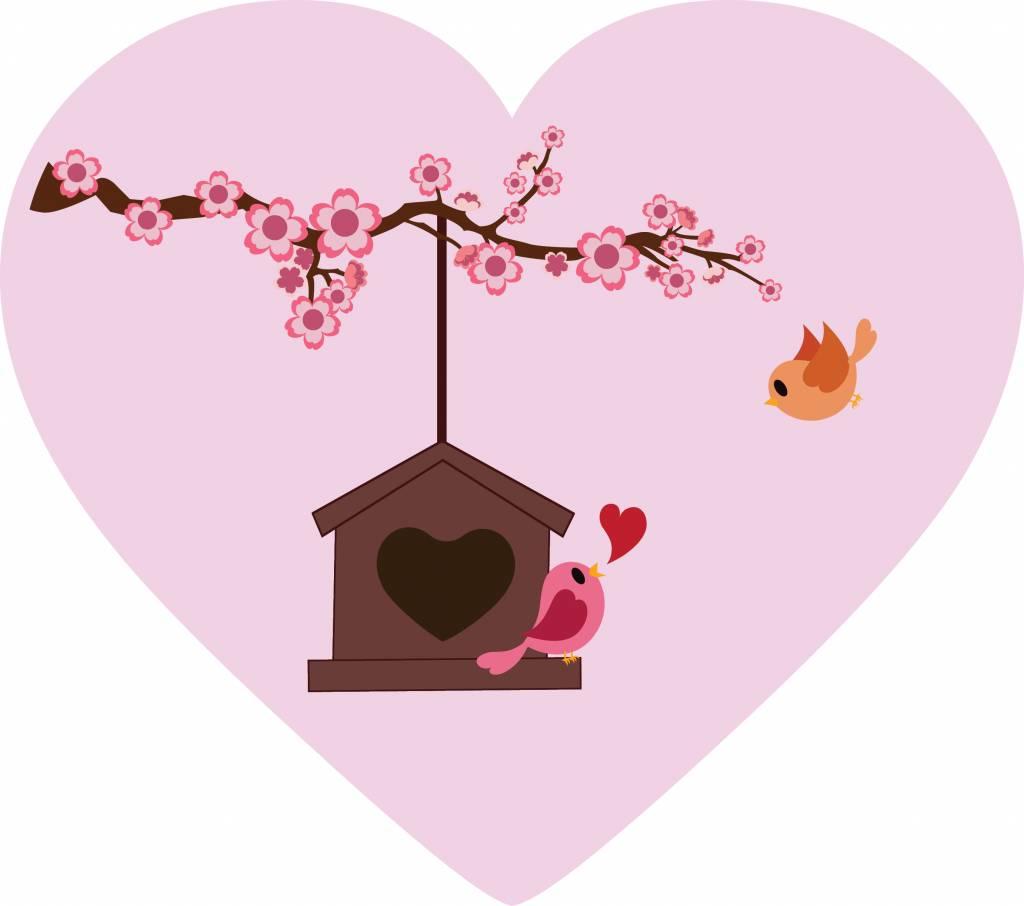 Día de San Valentín - Birdhouse