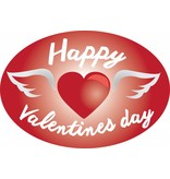Valentine's Day - Heart with wings