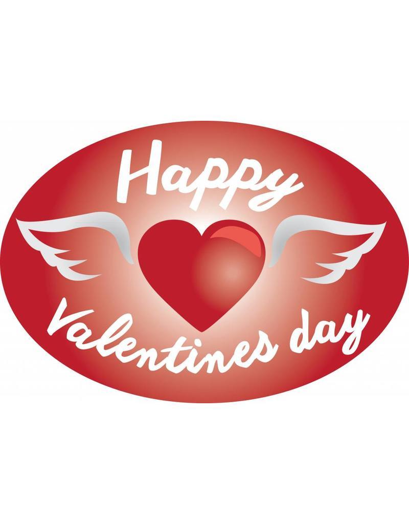 Valentinstag - Herz mit Flügeln