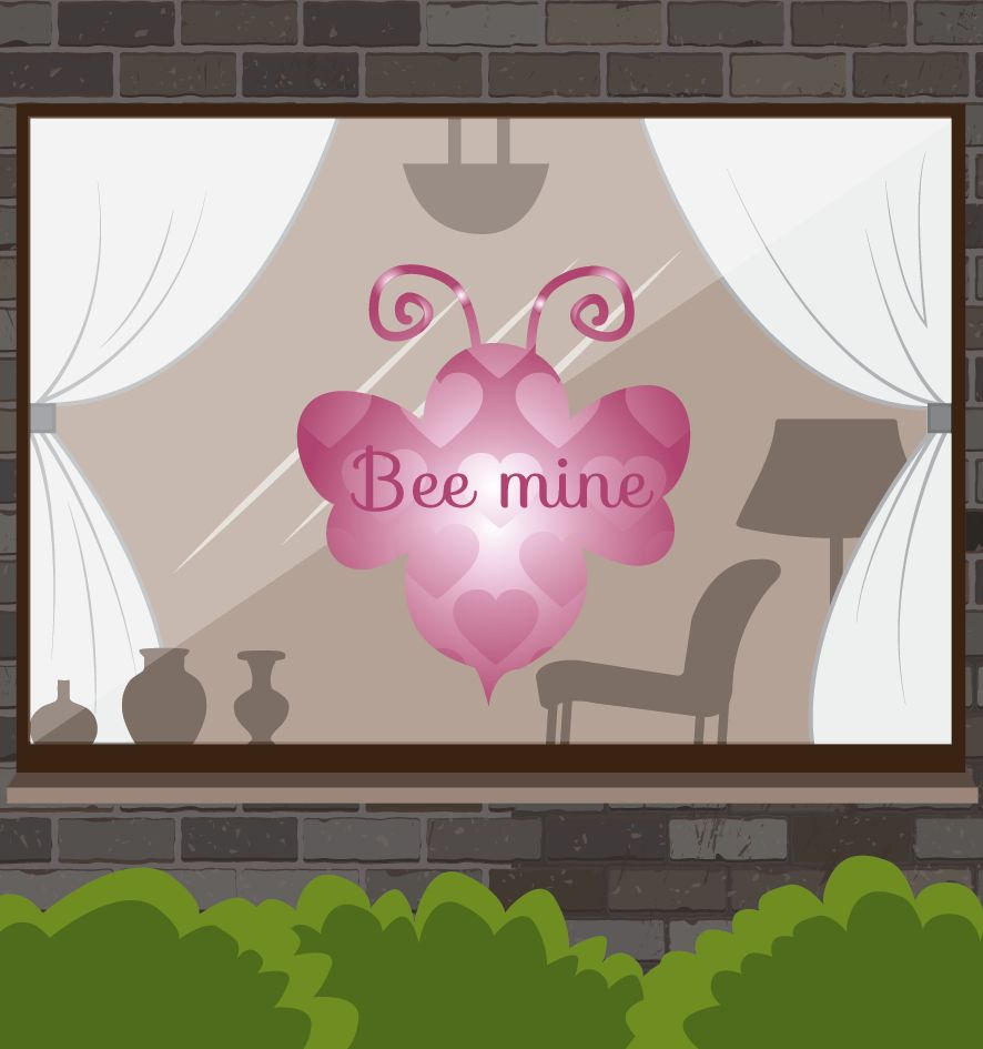 Saint Valentin - Mine d'abeille