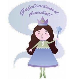 Birthday fairy blue