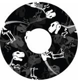 Speichenshutz Dinosaurier-Knochen Druck