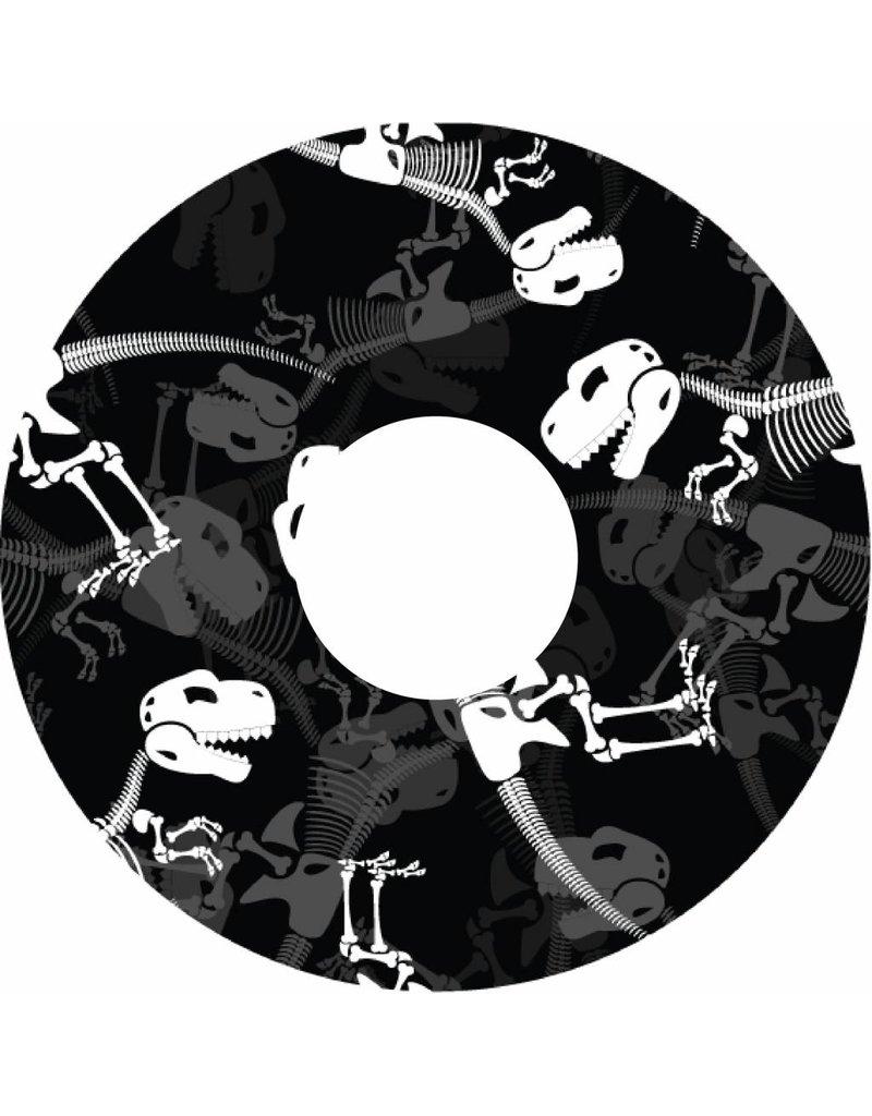 Spaakbeschermer Dinosaurus botten print